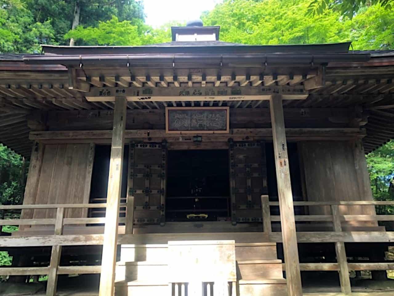 中尊寺の経蔵