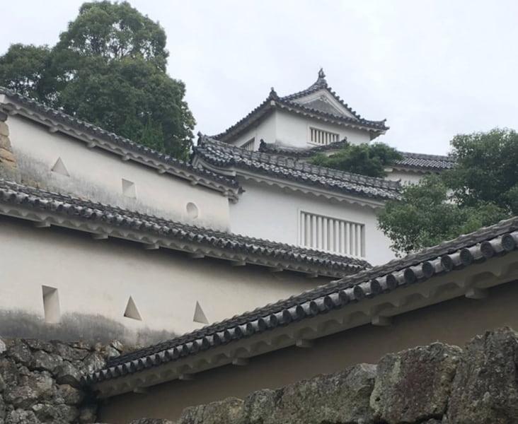 姫路城の白い壁