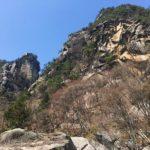 昇仙峡の天狗岩