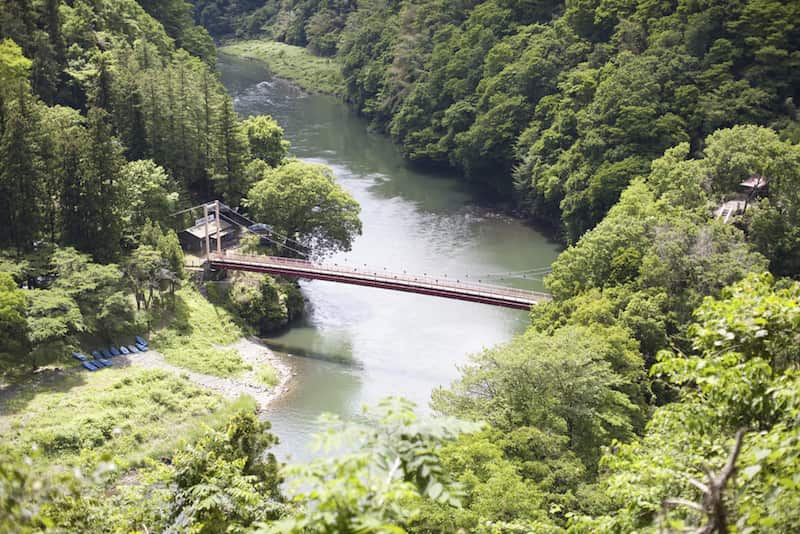 相模川の弁天橋