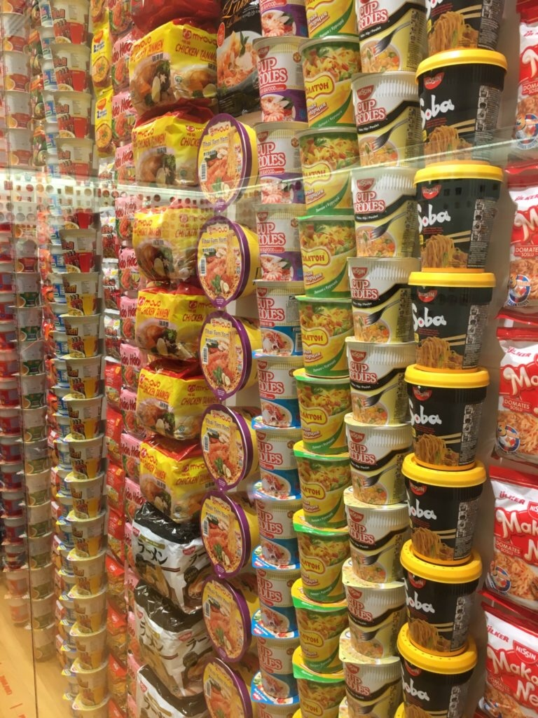 世界で売られているカップ麺コレクション