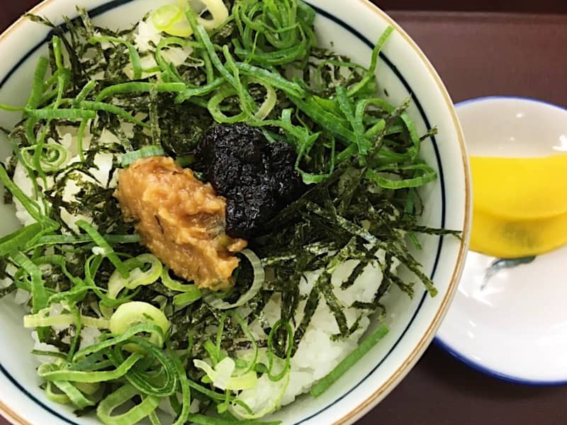 わさび海苔丼