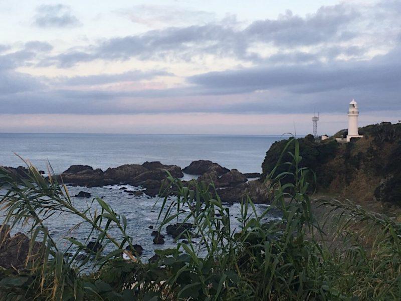 紀州半島最南端の崎の岬