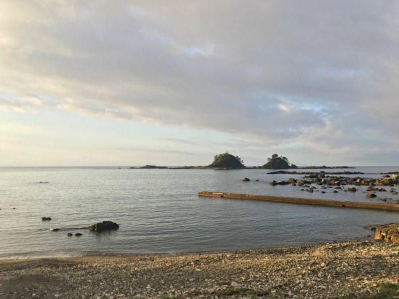 田子の浦から見える双島