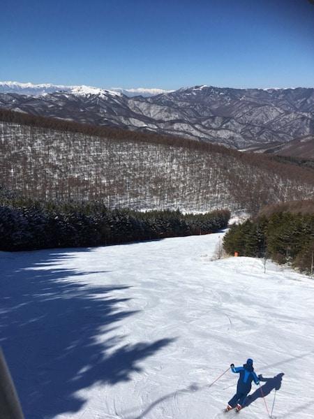ブランシュたかやまのスキーコース