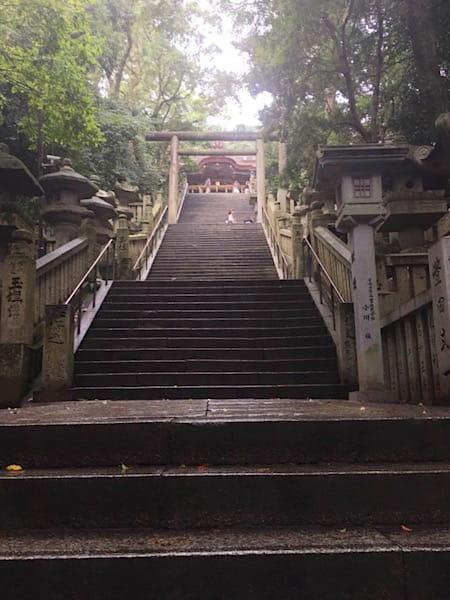 本宮までの階段