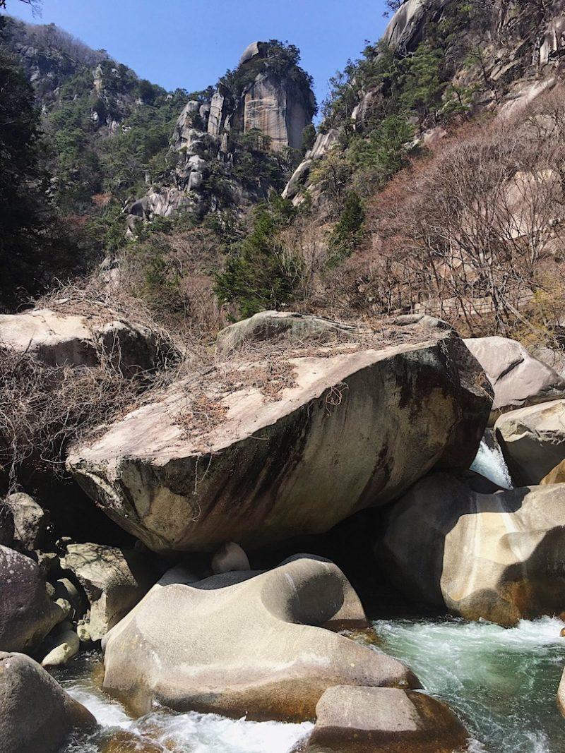 昇仙峡の覚円峰