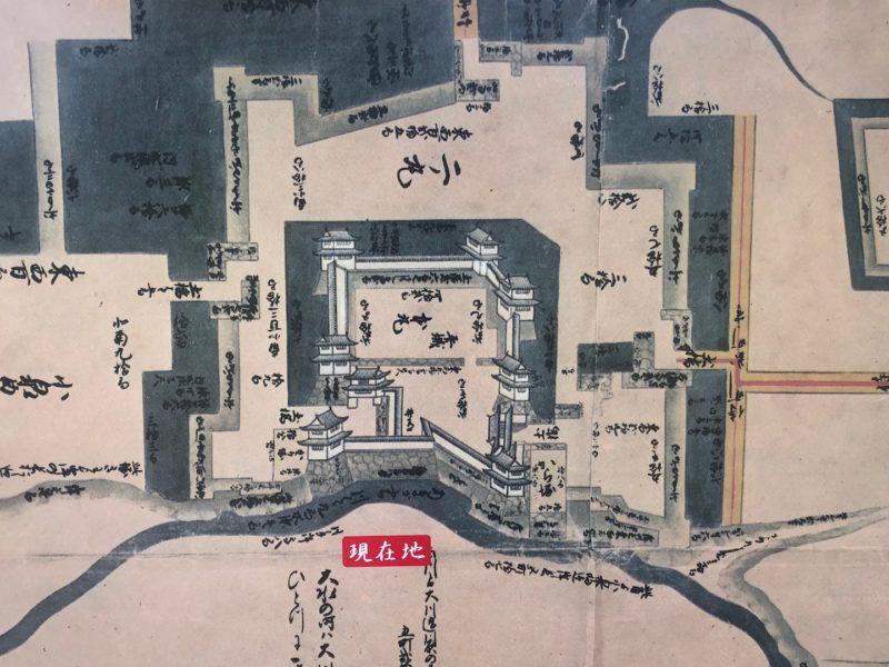 仙石氏が復元した当時の上田城