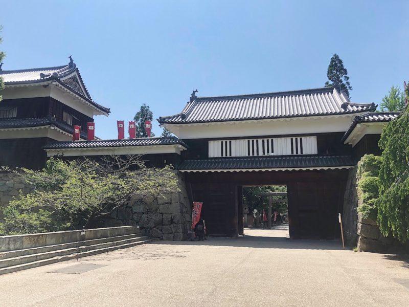 南櫓と東虎口