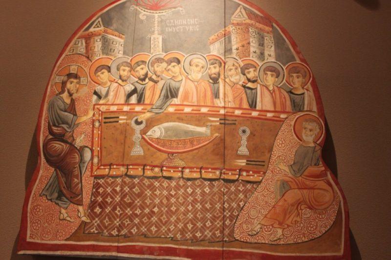 大塚国際美術館の古代・中世コーナー