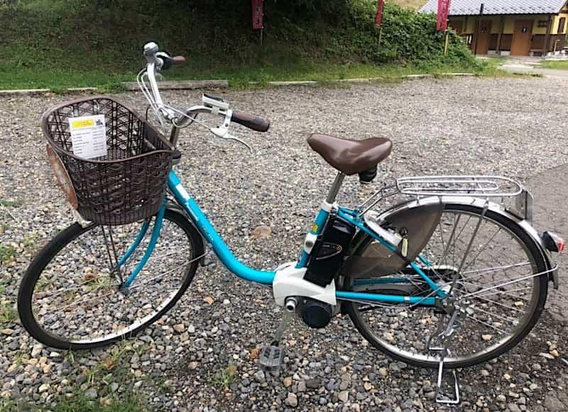 電動レンタル自転車
