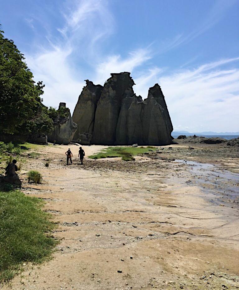 仏ヶ浦の海岸