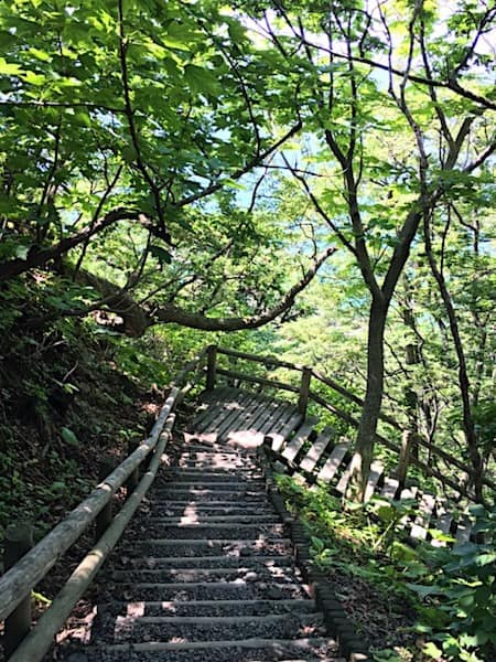 仏ヶ浦までの遊歩道