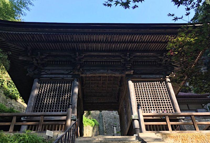 立石寺の仁王門