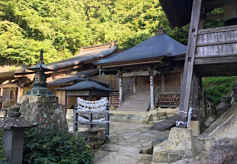 立石寺の奥の院