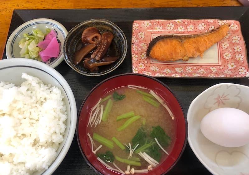 銚子の浜めしの朝定食