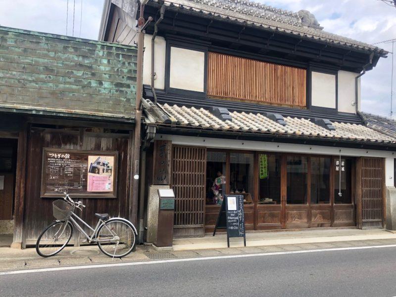 結城紬の専門店