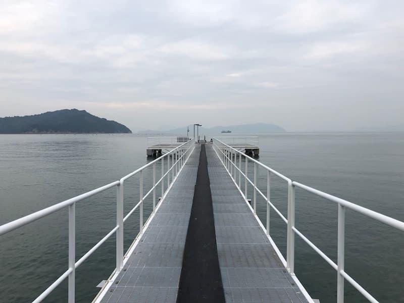 ベネッセ宿泊者専用桟橋