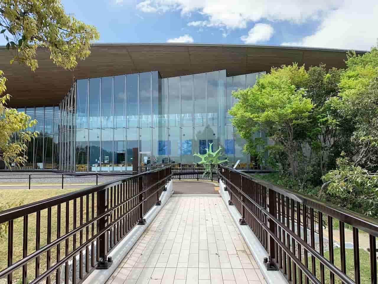 琵琶湖博物館の建物