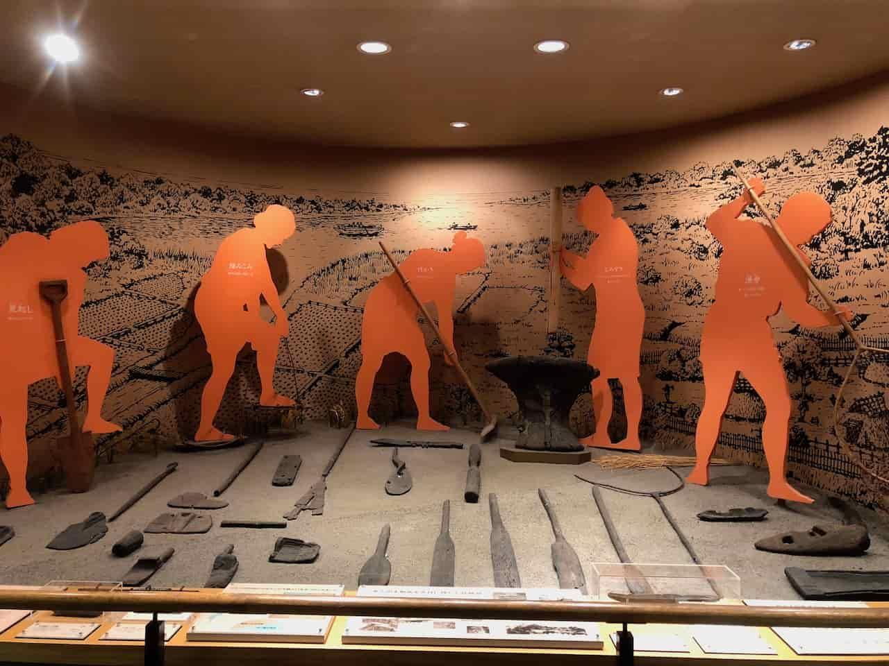 琵琶湖博物館のB展示室