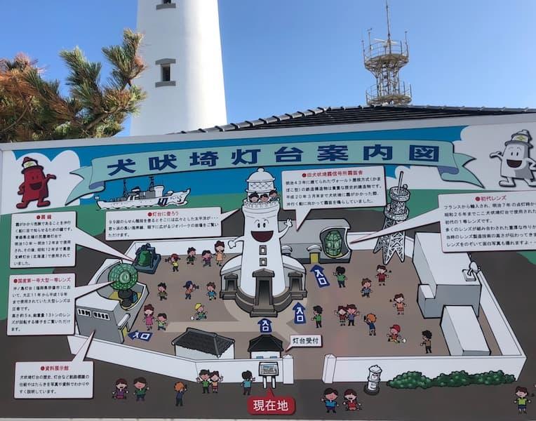 登れる灯台のひとつ犬吠埼灯台