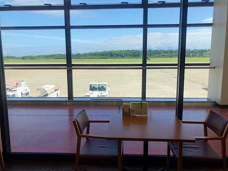 秋田空港のレストラン「空」