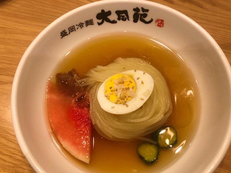 大同苑の冷麺