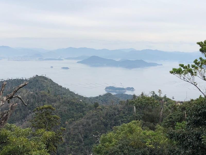 弥山からの眺め