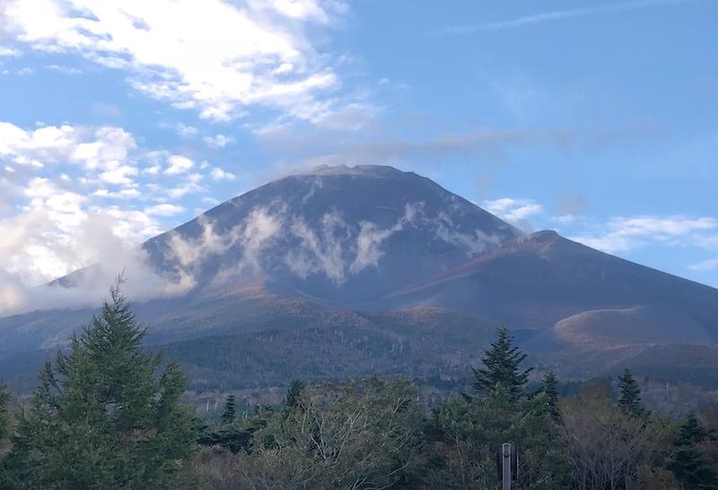 富士山の五合目