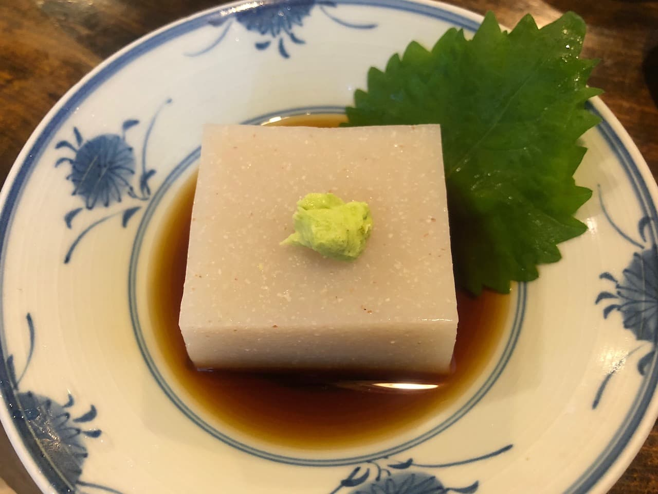 うずら家のそば豆腐