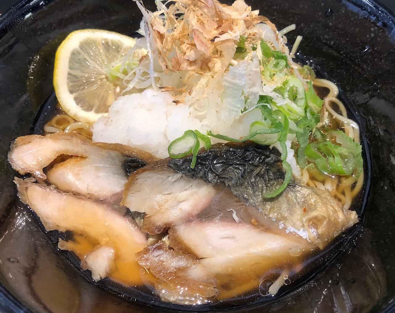 銚子の焼き鯖ラーメン