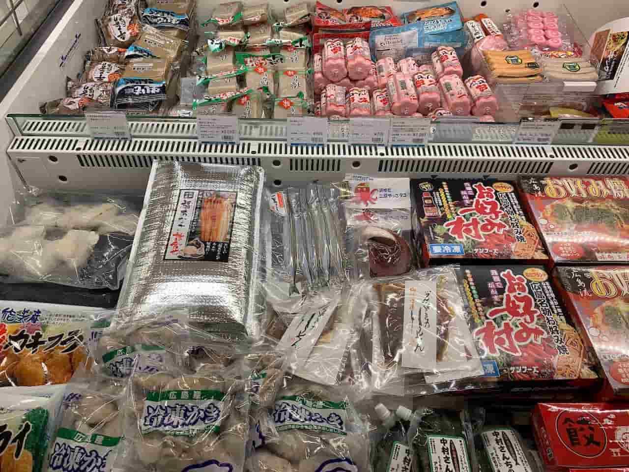 広島の牡蠣やお好み焼き