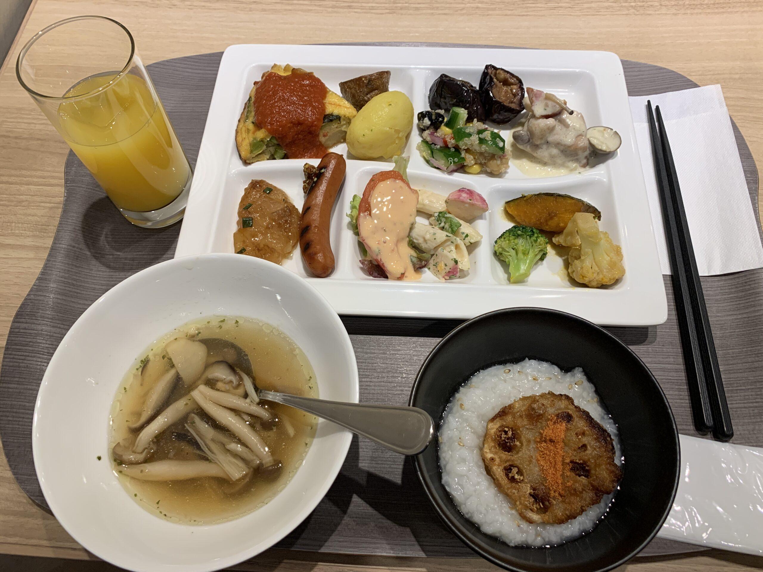 インターゲート京橋の朝食