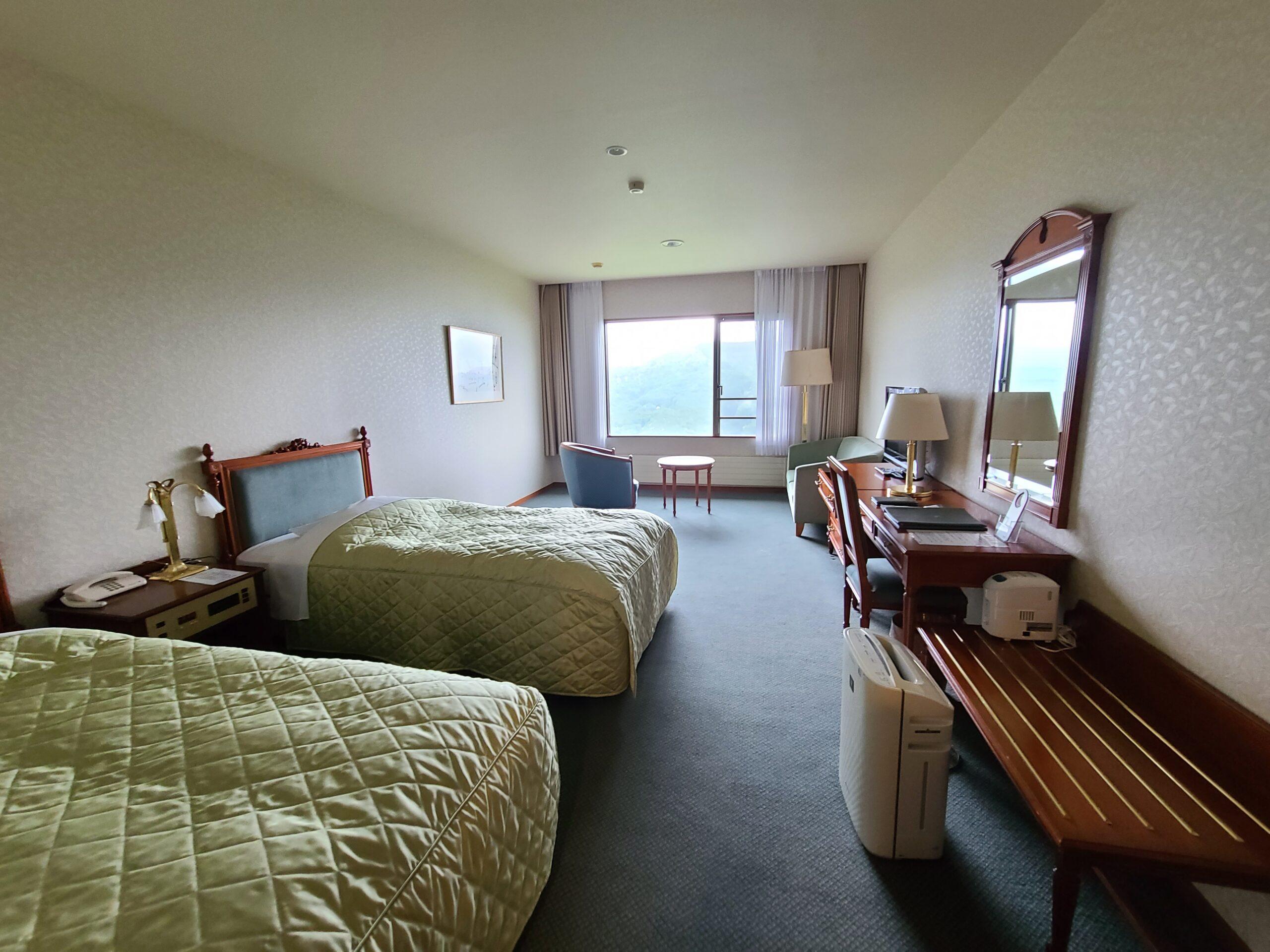 車山スカイパークホテルの部屋