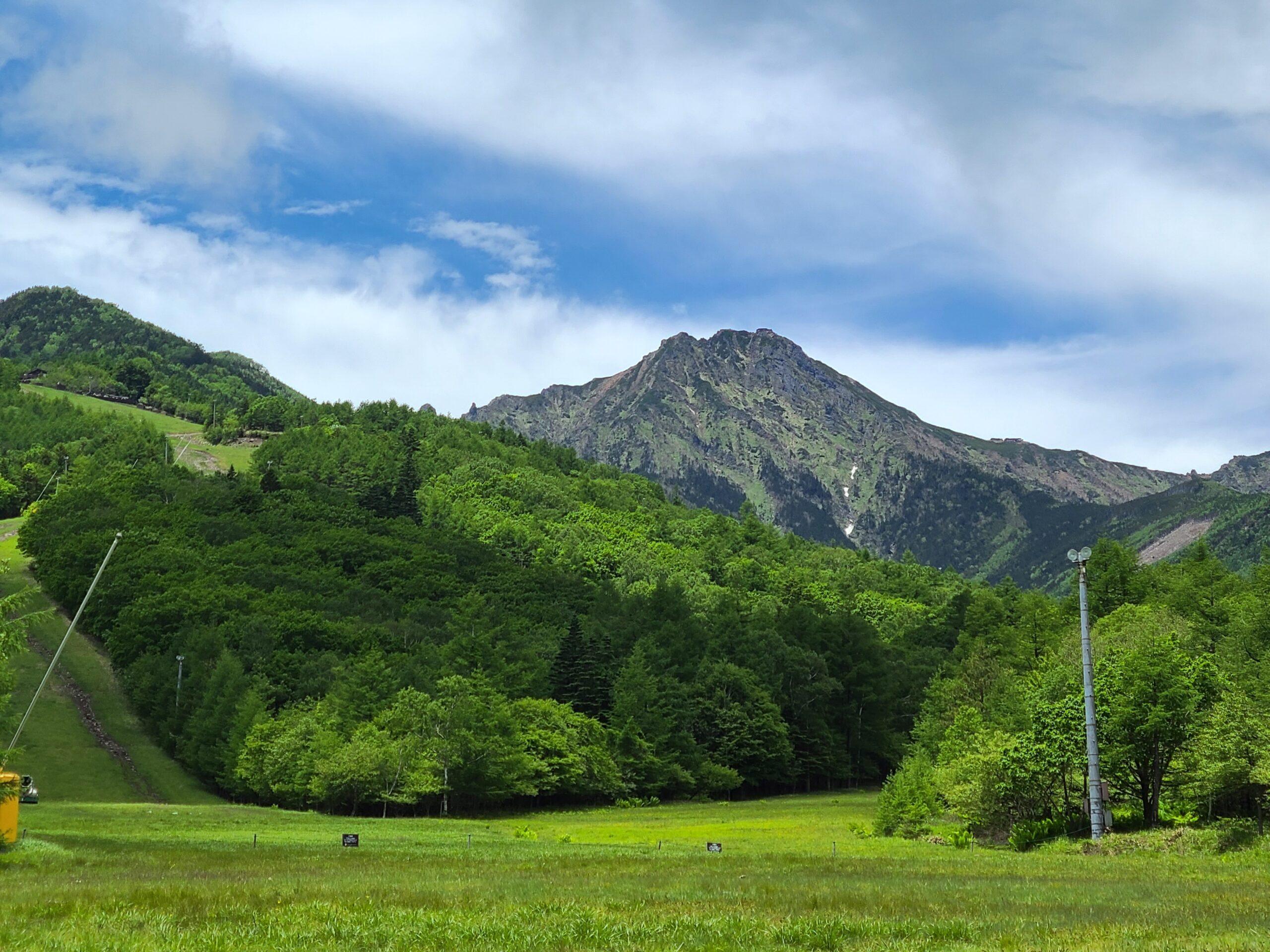 八ヶ岳の最高峰、赤岳